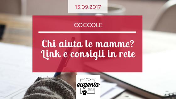 Coccole- chi aiuta le mamme