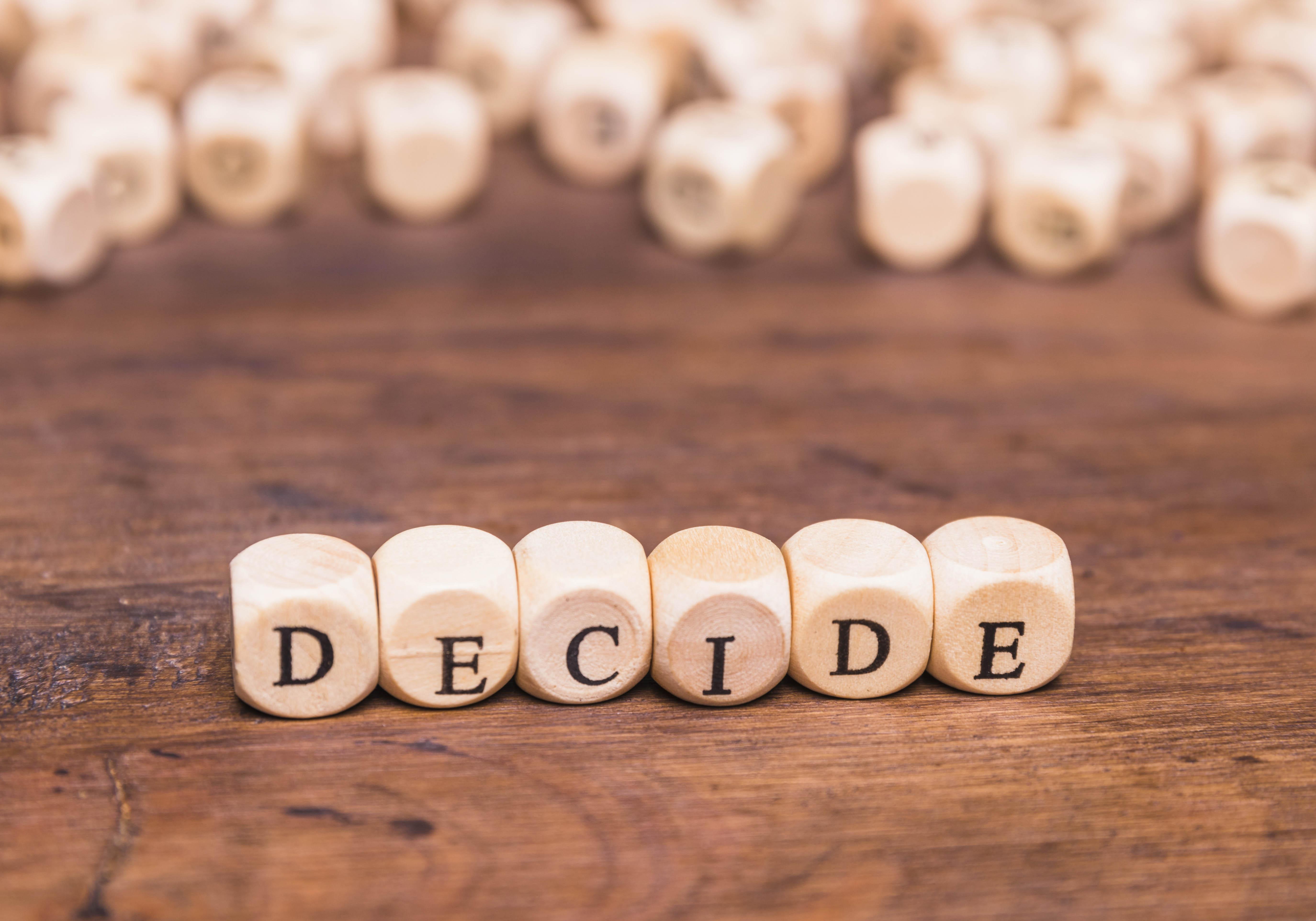 Prendere decisioni fa bene al cuore e alla mente