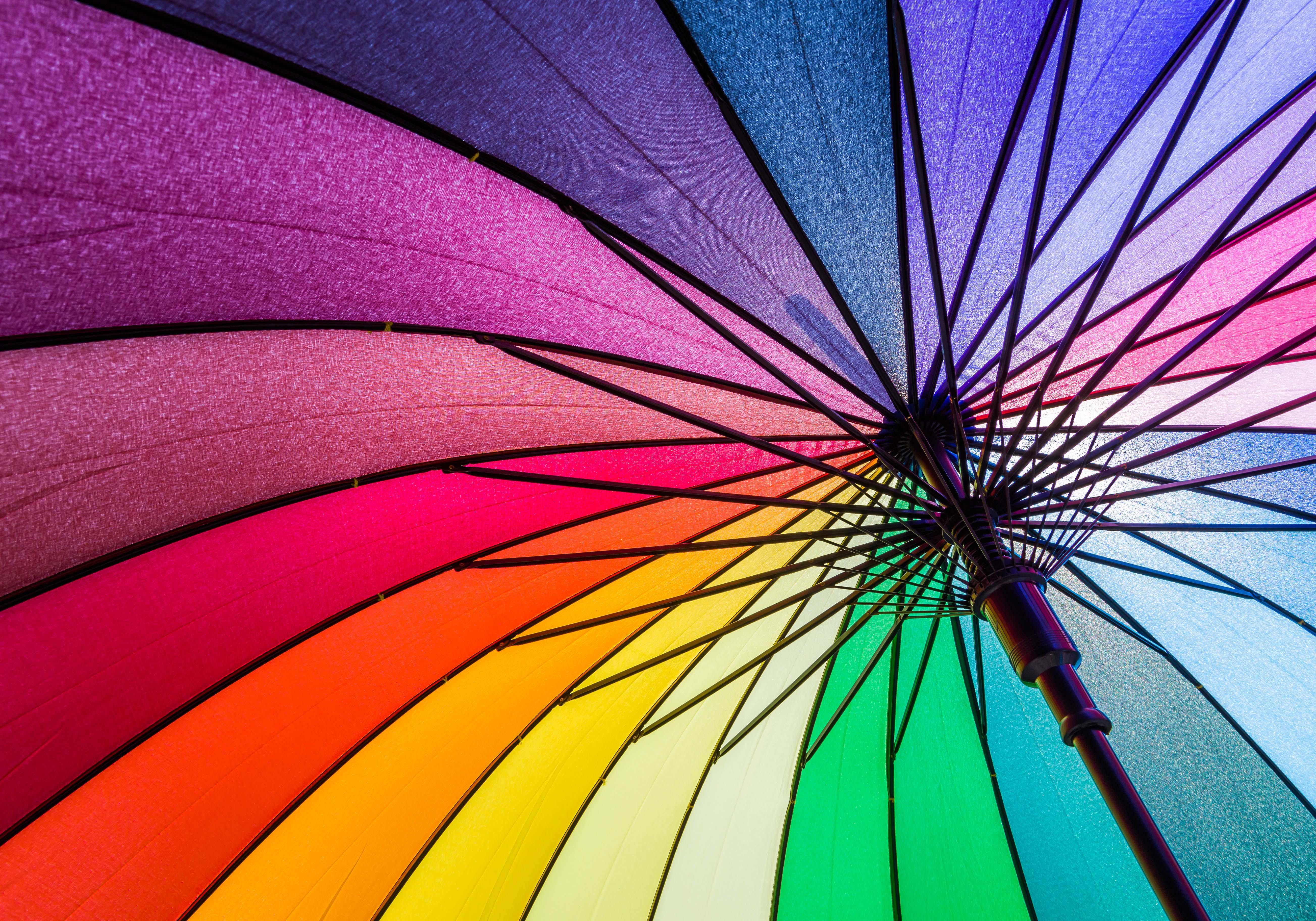 Creatività come un'esplosione di colori